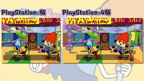 PS4版「パラッパラッパー」 PS / PS4版比較動画が公開!格段にキレイになってるぞ!!