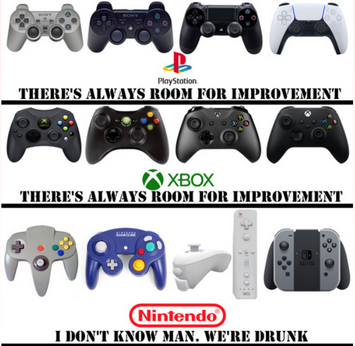 任天堂、ソニー、MSのコントローラーに対する考えの違いが話題に