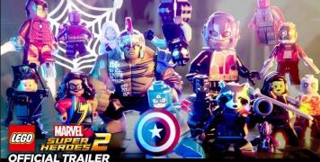 「レゴ マーベル スーパー・ヒーローズ2 ザ・ゲーム」 Switch版発売日が2018年2月1日に決定!