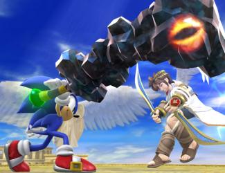 """WiiU/3DS「大乱闘スマッシュブラザーズ」 『パルテナの鏡』に登場する『巨塔 鉱物の塊』が""""強力な打撃武器""""として収録決定!!"""