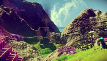 壮大すぎる宇宙探索オープンワールド 「No Man's Sky」 惑星生物の音声やSEを紹介する最新映像が到着