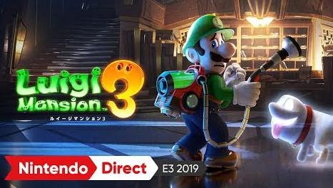 Switch「ルイージマンション3」E3 2019 出展映像が公開!
