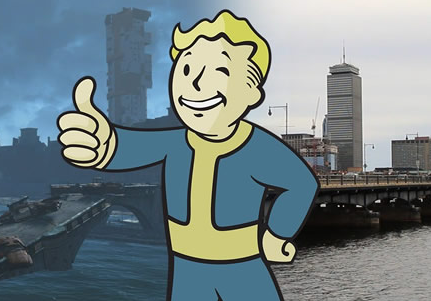 「Fallout 4」 再現度チェック!実在の名所とゲームマップを比較した検証映像が公開!!