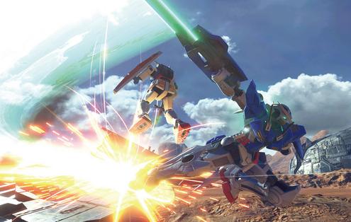 PS4「ガンダムバーサス」 ビルドストライク(フルパッケージ)&ファルシア参戦決定!