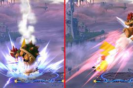 WiiU/3DS「大乱闘スマッシュブラザーズ」 『ピカチュウ』の『かみなり』にはメテオ属性がつくぞ!