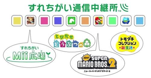 任天堂、3DS用サービス「すれちがい通信中継所」稼働停止を発表