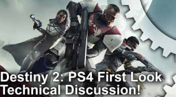 「Destiny 2」 PS4フレームレート解析動画が公開!