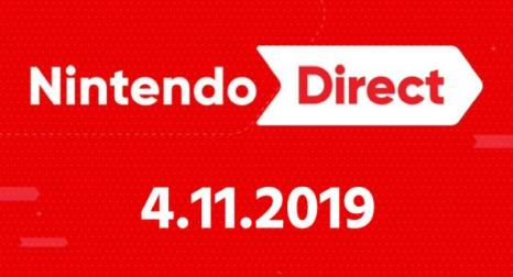 【噂】Nintendo Direct 4.11 2019 【Coming soon】