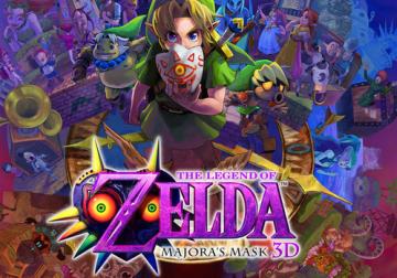 (TSUTAYAランキング 2/9~2/15)3DS「ゼルダの伝説 ムジュラの仮面3D」がぶっちぎり!「戦国無双4-II」も好調!!