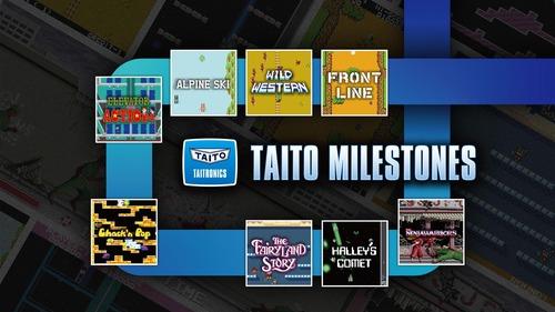 【朗報】「タイトーマイルストーン」Nintendo Switchにて2022年2月発売決定!タイトーの名作アーケード作品が豪華パックで蘇る