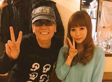 中川翔子さん 「ドラゴンミラクル!レストランに行ったら、偶然隣に堀井さんがいた!!」