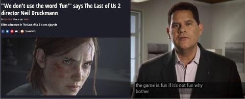 任天堂レジー社長「ゲームは楽しいもの」 ノーティ「ゲームは楽しいばかりではない」