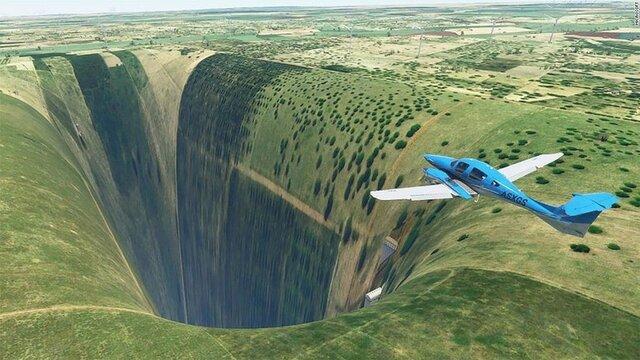 【驚愕】フライトシム、ブラジルに大穴が開くバグ発生