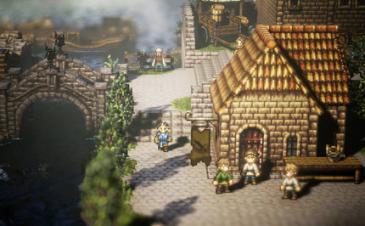 【ニンテンドースイッチ】 スクエニ完全新作RPG「オクトパストラベラー(Project OCTOPATH TRAVELER)」 浅野チーム、開発途中スクリーンショットを公開!