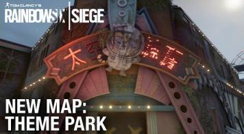 「レインボーシックス シージ」 新マップ『Theme Park』紹介トレイラーが公開!