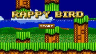 ネタなのにちゃんと遊べる!セガが仕掛けたパクり臭たっぷりのブラウザゲーム『Rappy Bird』がメチャ面白いwwwww