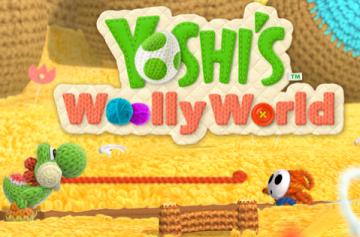 WiiU「ヨッシーウールワールド」 柔らかな毛糸の世界を冒険!オープニングプレビューが公開!!