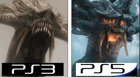 【動画】「デモンズソウル リメイク」PS5版とPS3オリジナル版 比較動画が公開!