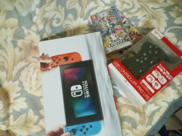 Switch買ったよ
