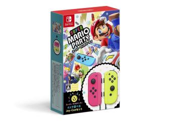【爆売れ】「スーパーマリオパーティ4人で遊べるjoy-conセット」Amazon、ビック、楽天などで売り切れ相次ぐ!