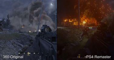 「CoD: Modern Warfare Remastered」 DigitalFoundryによる新旧比較映像が公開!