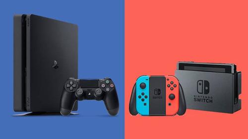 【比較画像】PS4 vs Switch の画像、新しくなるwwww