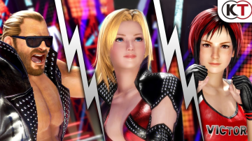 「デッドオアアライブ6」 バース、ティナ、ミラ参戦決定!キャラ紹介ショートトレーラーが公開!