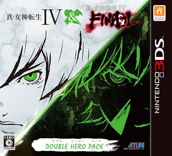 3DS「真・女神転生IV&FINAL ダブルヒーローパック」2タイトルを収録した豪華版が4/19発売決定!