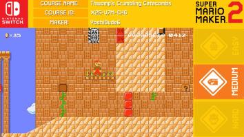 【朗報】Switch「スーパーマリオメーカー2」、発売約1ヶ月で500万コースが投稿される!!