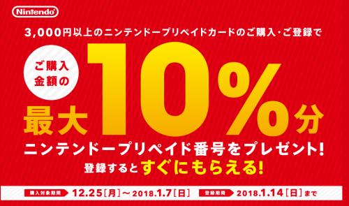 【朗報】セブンイレブンでニンテンドーポイント10%還元キャンペーン、今日から!!