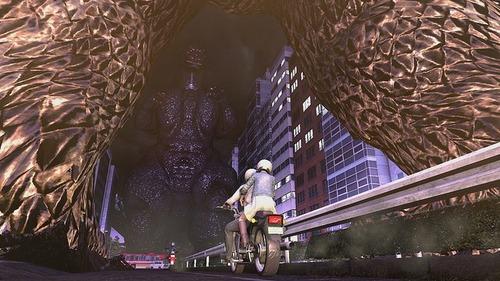 PS4「巨影都市」 最新スクリーンショットが公開!ガメラやエヴァンゲリオンも確認!!