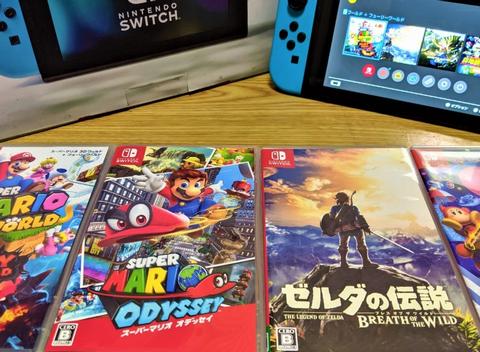 【出過ぎ】絶好調Nintendo Switchさん、本日も44本ものソフトが発売されてしまう