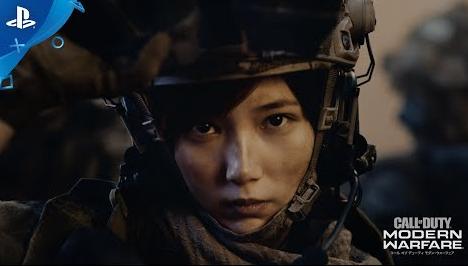 CoD最新作「コール オブ デューティ モダン・ウォーフェア」 本田翼さん出演の豪華なTVCMが公開!撮影裏メイキング映像も