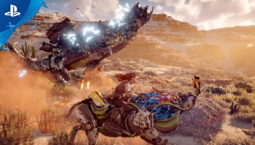「Horizon Zero Dawn」 美しい景観と機械獣に騎乗した戦闘が確認できる最新トレーラーが登場!