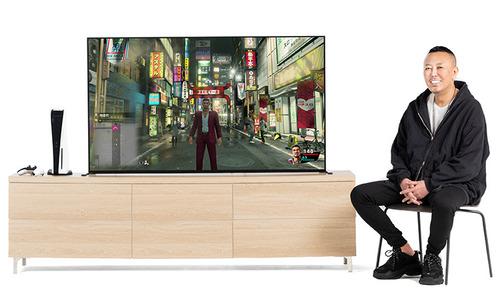 Sony.jp「ゲームを創造する表現者 名越稔洋氏、 液晶テレビ ブラビア XRを語る」