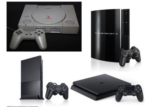 PS2「グラが綺麗になりました」PS3「グラが綺麗になりました」PS4「グラが綺麗に」PS5「グラが」