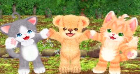 『クマ・トモ』シリーズ最新作 Switch/3DS「ネコ・トモ」紹介映像が公開!可愛い2匹のネコとコミュニケーション!!