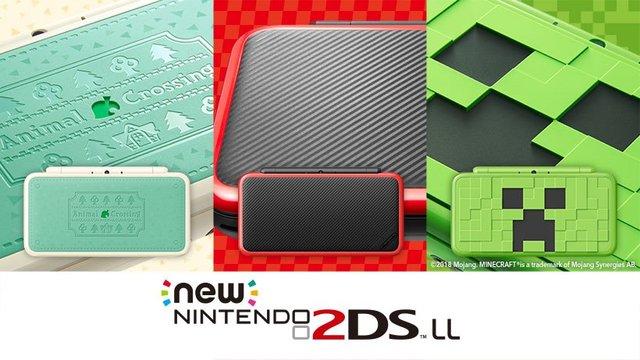 【予約開始】マイクラ、ぶつ森、マリカの新デザインNew2DSLLが登場、予約開始!!