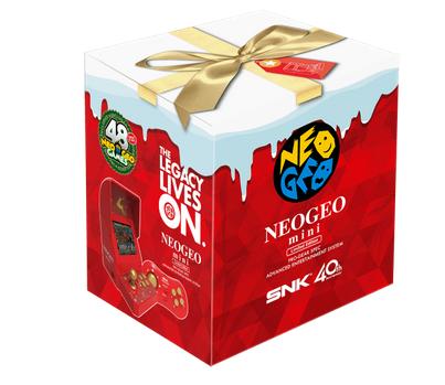 【郎報】NEOGEO miniにプレゼントに最適な『クリスマス限定版』が登場!!