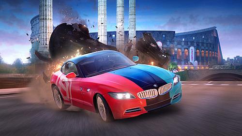 【朗報】スマホで大人気のレースゲーム「アスファルト9」のSwitch版が10月8日本日配信!追加要素有りで無料!!