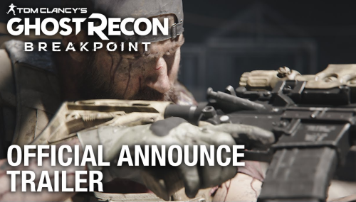 シリーズ最新作「Ghost Recon Breakpoint(ゴーストリコン ブレイクポイント)」がPS4/XB1/PC向けに10/4発売決定!
