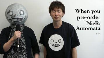 PS4 「ニーア オートマタ」 ヨコオタロウ氏が暴れる海外向けメッセージビデオ、ワロタwww