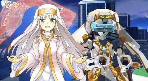PS4/PSV「とある魔術の電脳戦機(バーチャロン)」 オープニングアニメ公開!