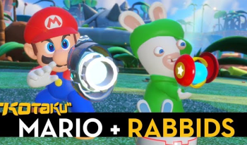 NS「マリオ+ラビッツ キングダムバトル」 新たなE3デモプレイ映像が2本追加!