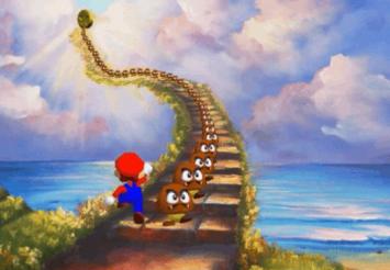 【裏ワザ・小ネタ映像】 まだあった!「スーパーマリオ64」でクリボーの橋を架ける新たな裏ワザが見つかる