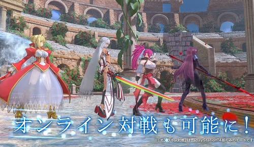 PS4/PSV「Fate/EXTELLA LINK」ハイスピードアクション新作 ショートプレイ動画「ネロ・クラウディウス」「無銘」公開!