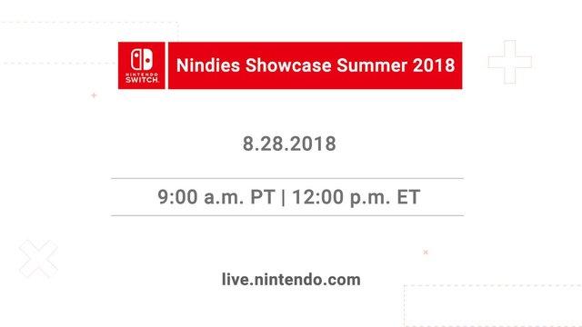 Nintendo Direct 2018.8.28