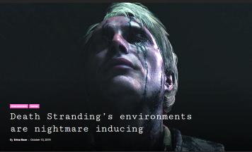 """【海外先行レビュー】「デスストラディング」は""""P.Tやサイレントヒルのようなホラーゲー""""!?豪で試遊会 「怖い。そしてこの作品は今年のゲームオブザイヤーだ」"""