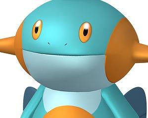 3DS「ポケモン オメガルビー/アルファサファイア」 公式がついにヌマクローの素材を投下!