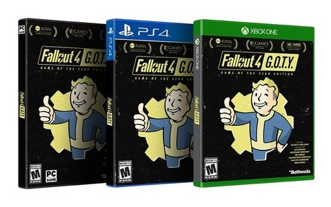 【朗報】「Fallout 4: GOTY Edition」PS4/XboxONE/PCで発表!